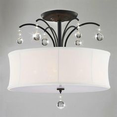 Warehouse of Tiffany RL4822 5-Light Helene Semi Flush Ceiling Light $76.00