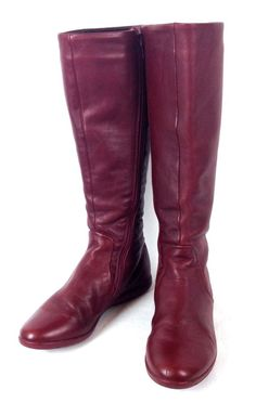 4745977bb Camper Shoes Womens Red Leather Riding Equestrian Boots 36 6 #CAMPER  #RidingEquestrian Конные Сапоги