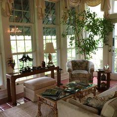 A sunroom, New Iberia, Louisiana