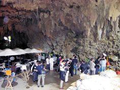 Sakitari Cave in Okinawa yields 8,000 year old pottery (photo: Shunsuke Nakamura)