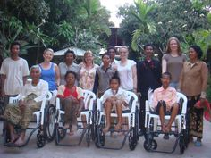 This was pinned by: Globe Aware Volunteer Vacations Cambodian Wheel Chair Recipients Mission Possible, Volunteer Services, Teaching English, Disability, Change The World, Cambodia, Helping People, Vacations, Globe