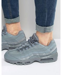 Nike Air Max 95 Essential Trainers In Grey
