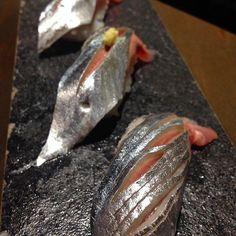 #jabistro SP @jabistro222: today's special sushi 'sanma' pacific saury japan #toronto #sushi #sashimi #sanma #foodie #aburi #toronto #canada #seaurchin #tapas #bar #pub #カナダ #寿司 by jabistro222