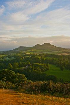 Scott's View looking toward the Eildon Hills, Scotland by billtam