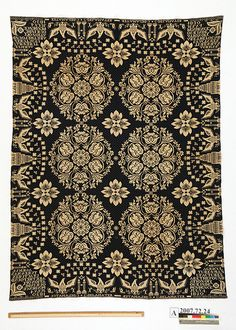 Coverlet woven in 1830