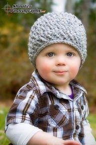 Textured Rib Crochet Hat
