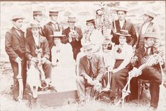 First year medical students at the University of Adelaide, 1900. The University of Adelaide Digital Archives.