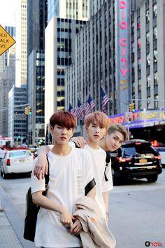 [STARCAST] UP10TION in New York!  #Hwanhee  #환희 #Xiao  #샤오 #gyujin #규진 #업텐션