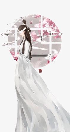 """""""Dạ Hoa, thiếp bỏ qua chàng, chàng cũng bỏ qua thiếp, hai người chúng ta, không ai nợ ai...""""  (Tố Tố - Tam Sinh Tam Thế Thập Lý Đào Hoa) Peach Blossom Tree, Peach Blossoms, Blossom Trees, Eternal Love Drama, Chinese Picture, Chinese Drawings, Painting Of Girl, China Art, Creative Pictures"""