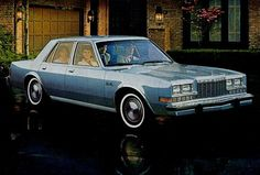 1984 Plymouth Gran Fury 4-Door Sedan