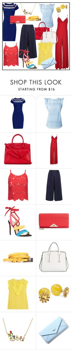 """""""COLOR SPLASH!!!"""" by kskafida ❤ liked on Polyvore featuring Rumour London, MICHAEL Michael Kors, Lancaster, Norma Kamali, Alice + Olivia, Zeus+Dione, Alexandre Birman, Karl Lagerfeld, French Connection and Emilio Pucci"""
