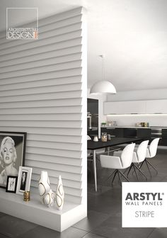 ARSTYL® Wall Panels STRIPE designed by @michaelbihain