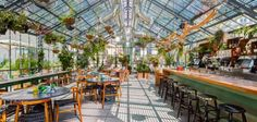 Roy Choi's stunning glass conservatory stuffed with vegetation you admire and vegetation you devour. (Also, French dips and Matt Biancaniello cocktails.)