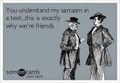 Best friends understand text sarcasm