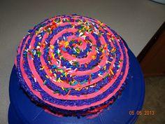 Fun cake decorating idea