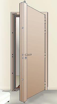 Technobat Portes Blindées Porte Et Fenêtres Pinterest Porte - Porte placard coulissante jumelé avec portes blindées tordjman