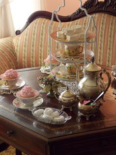"""Mother's Day inspired tea party""  Would love to try a real tea party"