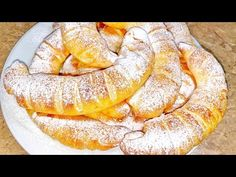 (23) O coptură moale şi pufoasă ca la bunica/ simplu, rapid şi delicios  Danutax - YouTube Romanian Food, Pastry And Bakery, Croissant, Feta, Camembert Cheese, French Toast, Food And Drink, Sweets, Bread