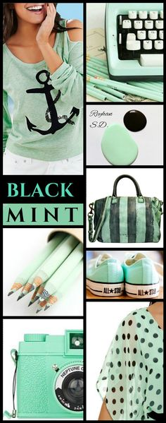 '' Black & Mint '' by Reyhan S.D.