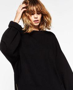 Image 4 of KNIT SWEATSHIRT from Zara