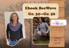 Ebook  BeeWave Gr. 32 - Gr. 56 von BeeKiddi auf DaWanda.com