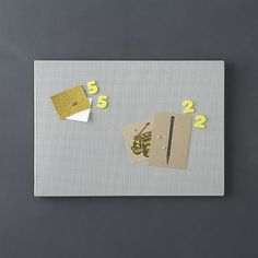 Mesh Silver Bulletin Board in Office Accessories | Crate and Barrel