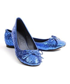Take a look at this Blue Mila Ballet Flats by Ellie Shoes on #zulily today!