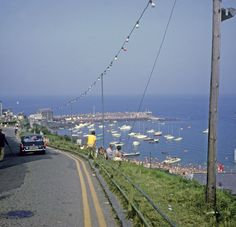 The road to New Quai from Cuwm Cottage