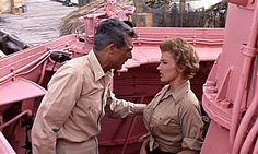 Dina Merrill Operation Petticoat | Cary Grant ve Joan O'Brien pembeye boyanmış denizaltının ...