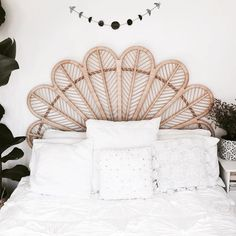 We took the success of our Love Chair and transformed it into our Re-Pinned by: ettitude.com.au new Petal Bed Head. Here it is in Natural Queen Petal Bed Head in Natural.