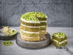 Torta matcha e limetta Matcha, Kiwi, Lime Cake, Sweets Cake, Wedding Cakes, Cheesecake, Desserts, Food, Paper Background