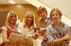 Robin Zander and friends from 1977 ~ Photo Credit: Jimmy Barnes Photography