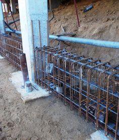 Concrete Formwork, Concrete Retaining Walls, Concrete Stairs, Reinforced Concrete, Civil Engineering Design, Civil Engineering Construction, Architectural Engineering, Building Foundation, House Foundation