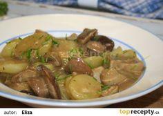 Staročeská bramborová omáčka s hříbky recept - TopRecepty.cz No Salt Recipes, Snack Recipes, Snacks, Czech Recipes, Food To Make, Stuffed Mushrooms, Food And Drink, Veggies, Potatoes