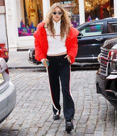 Only Gigi Hadid could make sweats look this cool  #gigihadid via MARIE CLAIRE MAGAZINE OFFICIAL INSTAGRAM - Celebrity  Fashion  Haute Couture  Advertising  Culture  Beauty  Editorial Photography  Magazine Covers  Supermodels  Runway Models