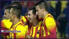 All Goals - Levante 1-4 Barcelona - 22-01-2014 Highlights   BeinGoal.Com