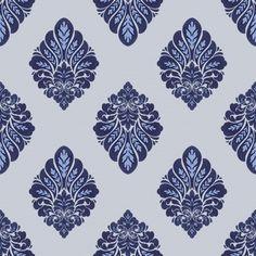 Elemento de damasco de patrones sin fisu... | Free Vector #Freepik #freevector #flor #floral #hoja #lujo