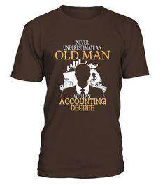 Tshirt  Man With Accounting Degree T Shirt  Accounting Degree Shirt  fashion for men #tshirtforwomen #tshirtfashion #tshirtforwoment