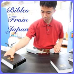 Japan Shares in the Worldwide Production of Hardcover Bibles New equipment has been installed at the printing facility of Jehovah's Witnesses in Japan. Learn more about this fully automated bindery line.   ♥•.¸¸.•♥   JW.org > About Us > Activities > Our Publishing Work > Bibles From Japan. JW.org also has the Bible & bible based study aids to read, watch, listen & download in 300+ languages. These aids are designed to be used with your bible.  Home bible studies are available.