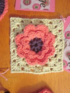 Project Gallery for Flower square pattern by Beata Basik ~ free pattern