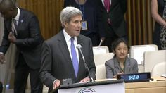 Kerry Attends General Assembly on Refugees and Migrants