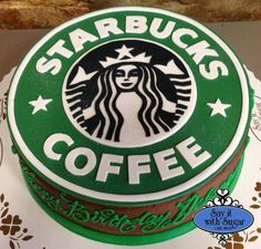 Starbucks coffee cake - For all your cake decorating supplies, please visit craftcompany.co.uk