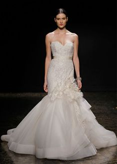 Bridal Gowns, Wedding Dresses by Lazaro - Style LZ3415