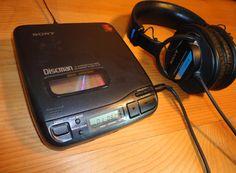 Rare 1 Bit Dac 1992 Sony DISCMAN D-34 by AntiqueApartment on Etsy