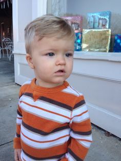 Toddler boy haircut. Dapper
