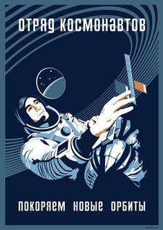 Cosmonaut by Spiritius. Society6