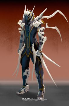 ArtStation - armor suit, Donovan Liu