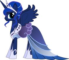 Cute Luna | Princess Luna Gala Dress | My Little Pony: Friendship is Magic | Know ...