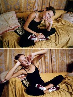 Kate Moss par Denzil McNeelance - 1993