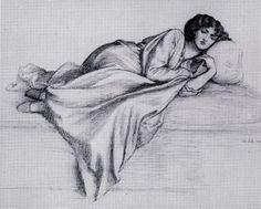 The Ramblings of a Pre-Raphaelite Neo-Victorian: Rossetti Drawings Part 2 - Jane Morris